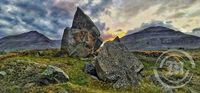 Klofasteinar við Möðrufellshraun