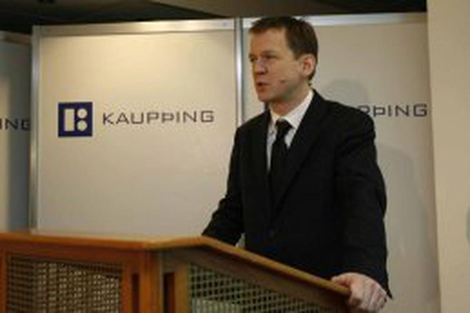 Hreiðar Már Sigurðsson, forstjóri Kaupþings