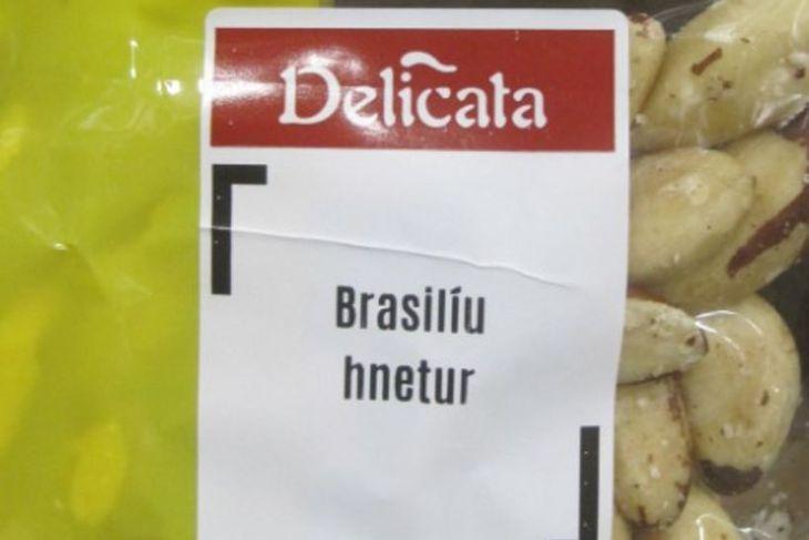 Delicata Brasilíuhnetur.