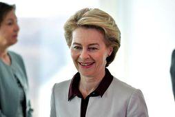 Ursula von der Leyen, tilvonandi forseti framkvæmdastjórnar Evrópusambandsins.