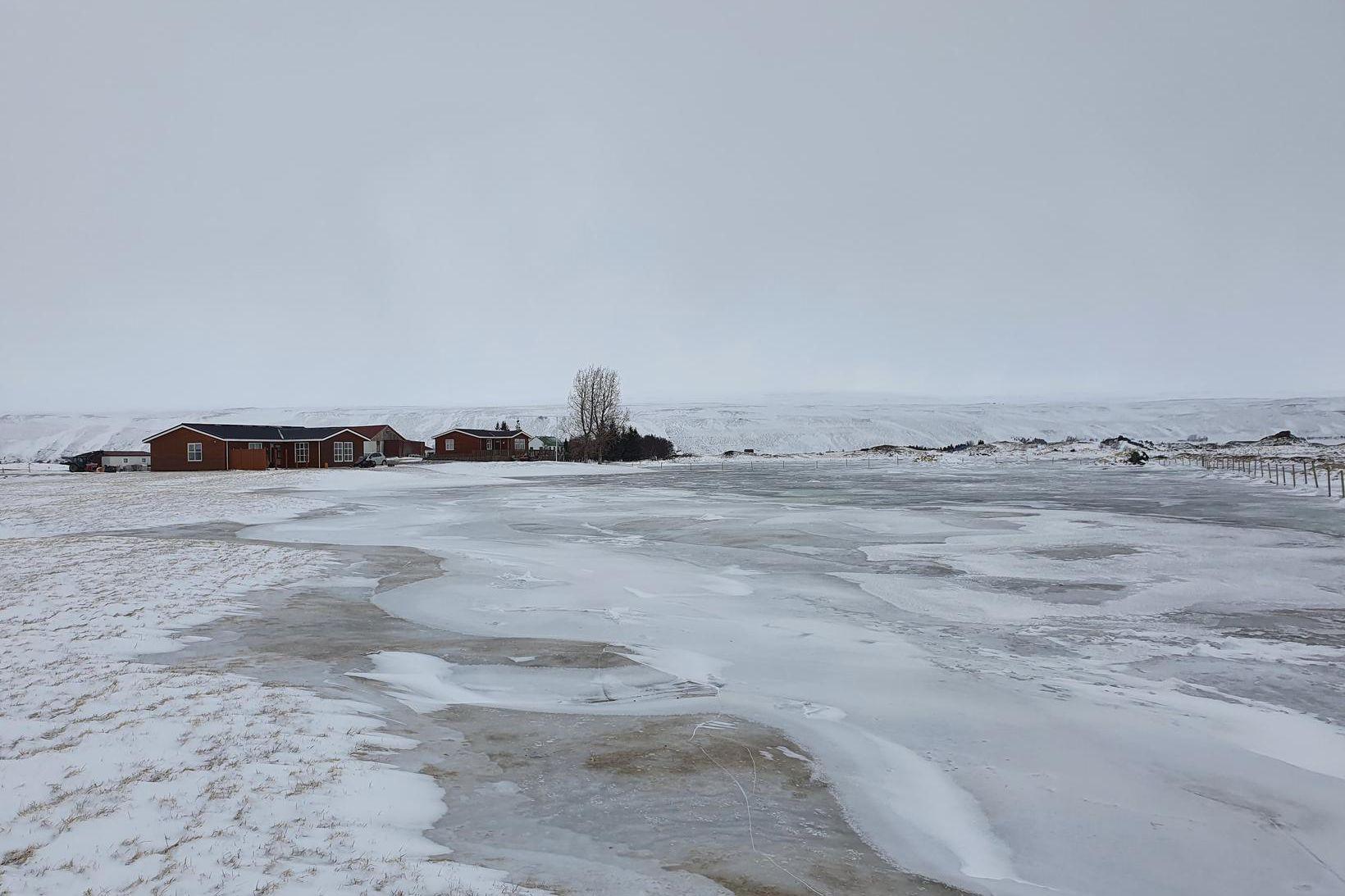 Hólmavað við bakka Laxár í Aðaldal.