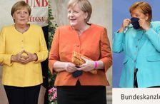 Angela Merkel hefur komið sér upp hinum fullkomna fataskáp hinnar vinnandi konu.