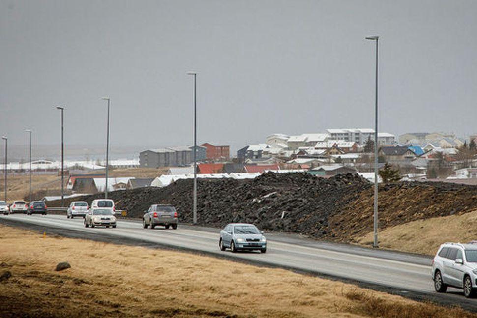 Hópurinn lagði sérstaka áherslu á að ná að aðskilja akstursstefnurnar.