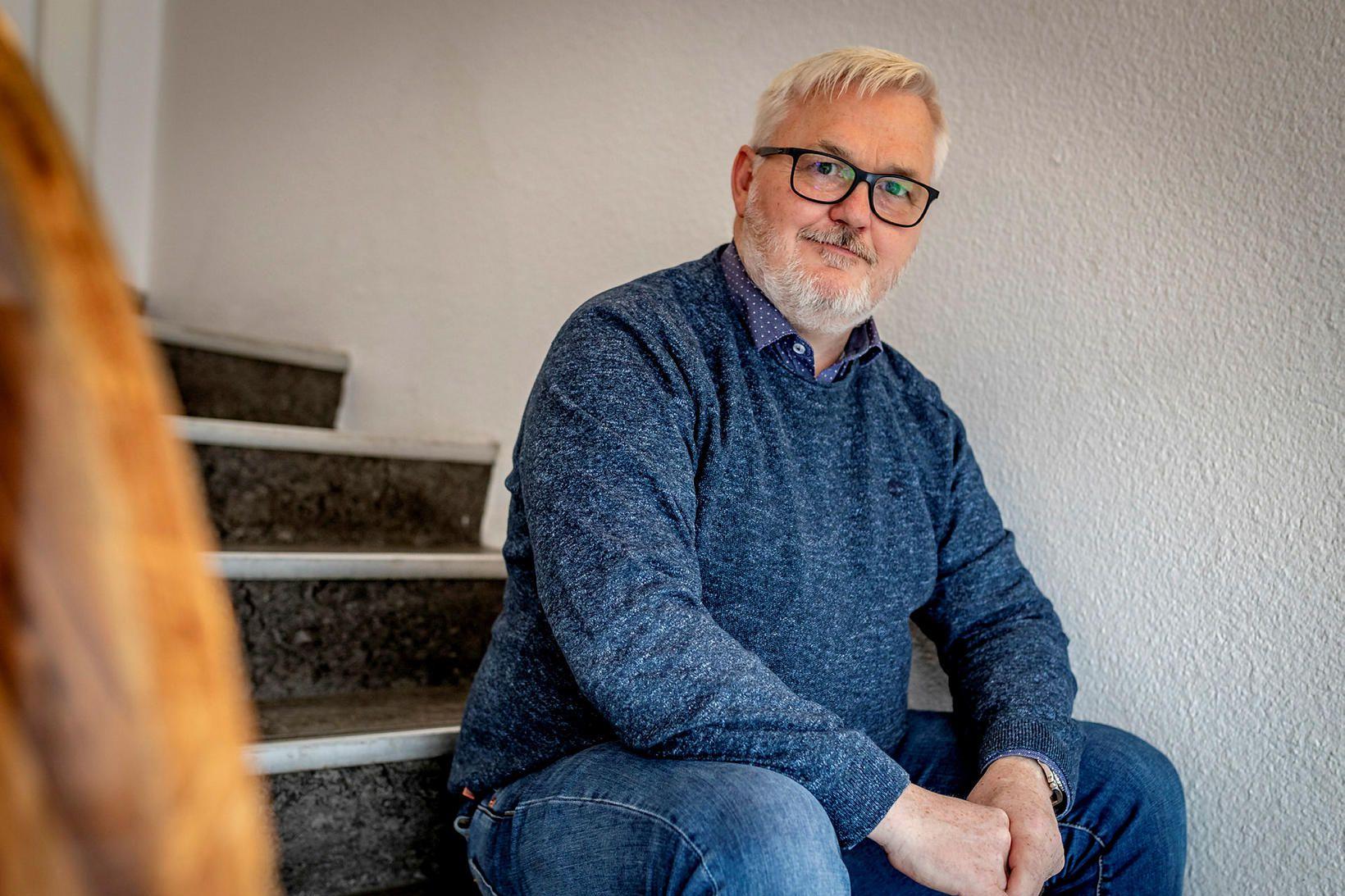 Sverrir Berg Steinarsson.