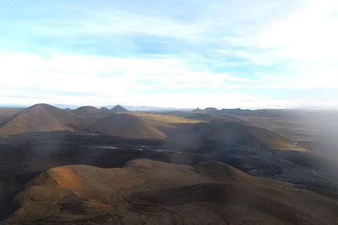 A view toward Keilir mountain.