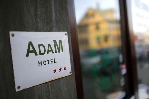Adam Hotel on Skólavörðustígur.