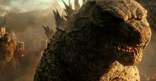 Godzilla í myndinni um Godzilla og King Kong.