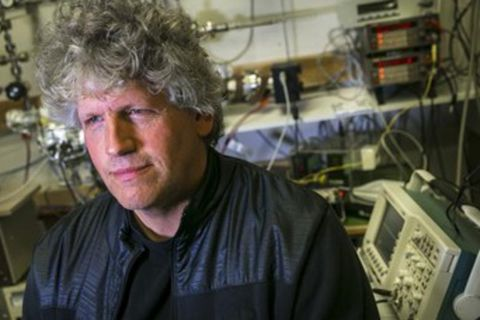 Scientist Sveinn Ólafsson.
