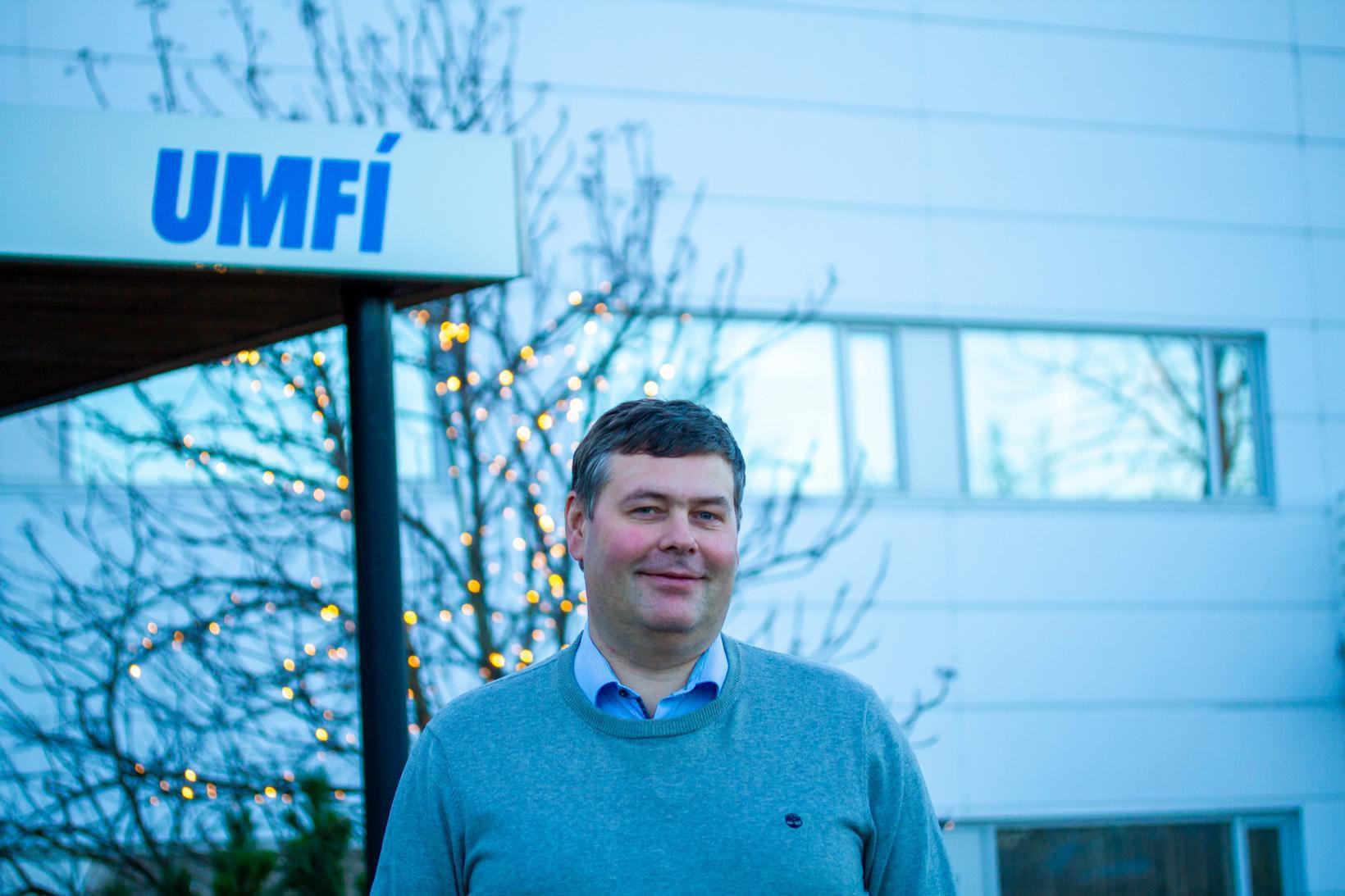 Jóhann Steinar Ingimundarson, nýr varaformaður UMFÍ