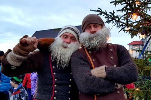 Christmas lads.