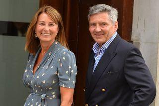 Carole og Michael Middleton árið 2013.