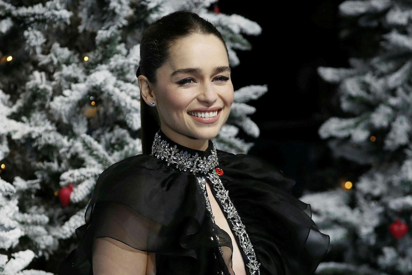 Emilia Clarke er hætt að gúgla sig.