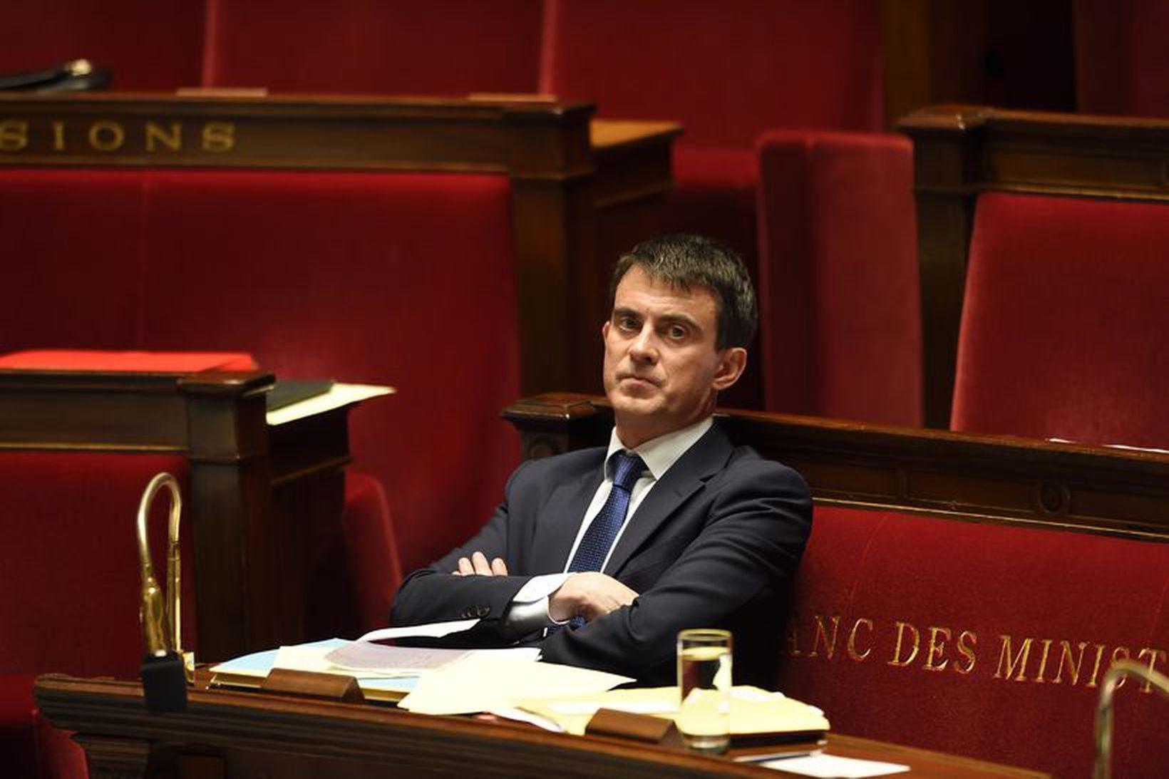 Manuel Valls, forsætisráðherra Frakklands.