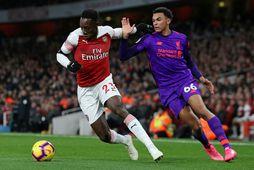 Arsenal og Liverpool voru ekki með á fyrstu árum ensku deildakeppninnar en eru samt tvö …