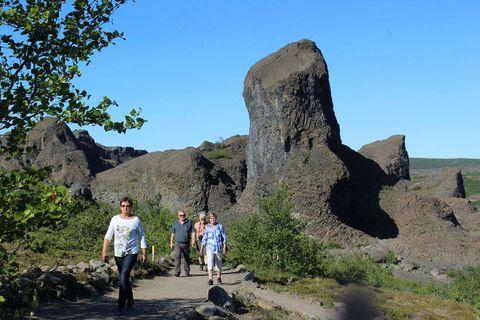 Jökulsárgljúfur offers magnificent nature.