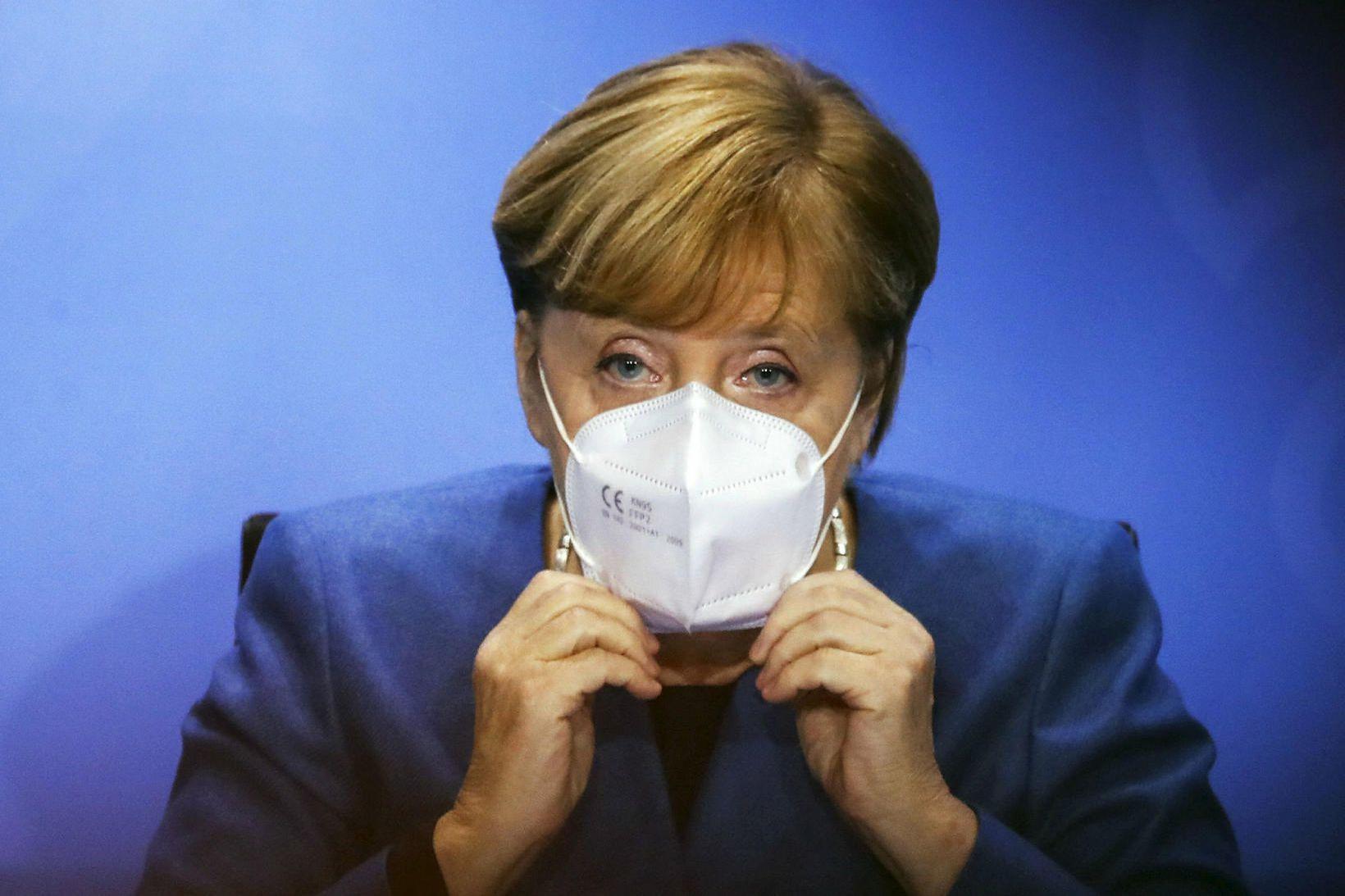 Angela Merkel, kanslari Þýskalands.