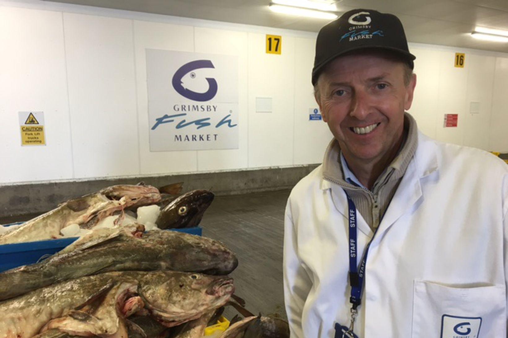 Martyn Boyers er vel kunnugur Íslandi og íslenskum fiski.