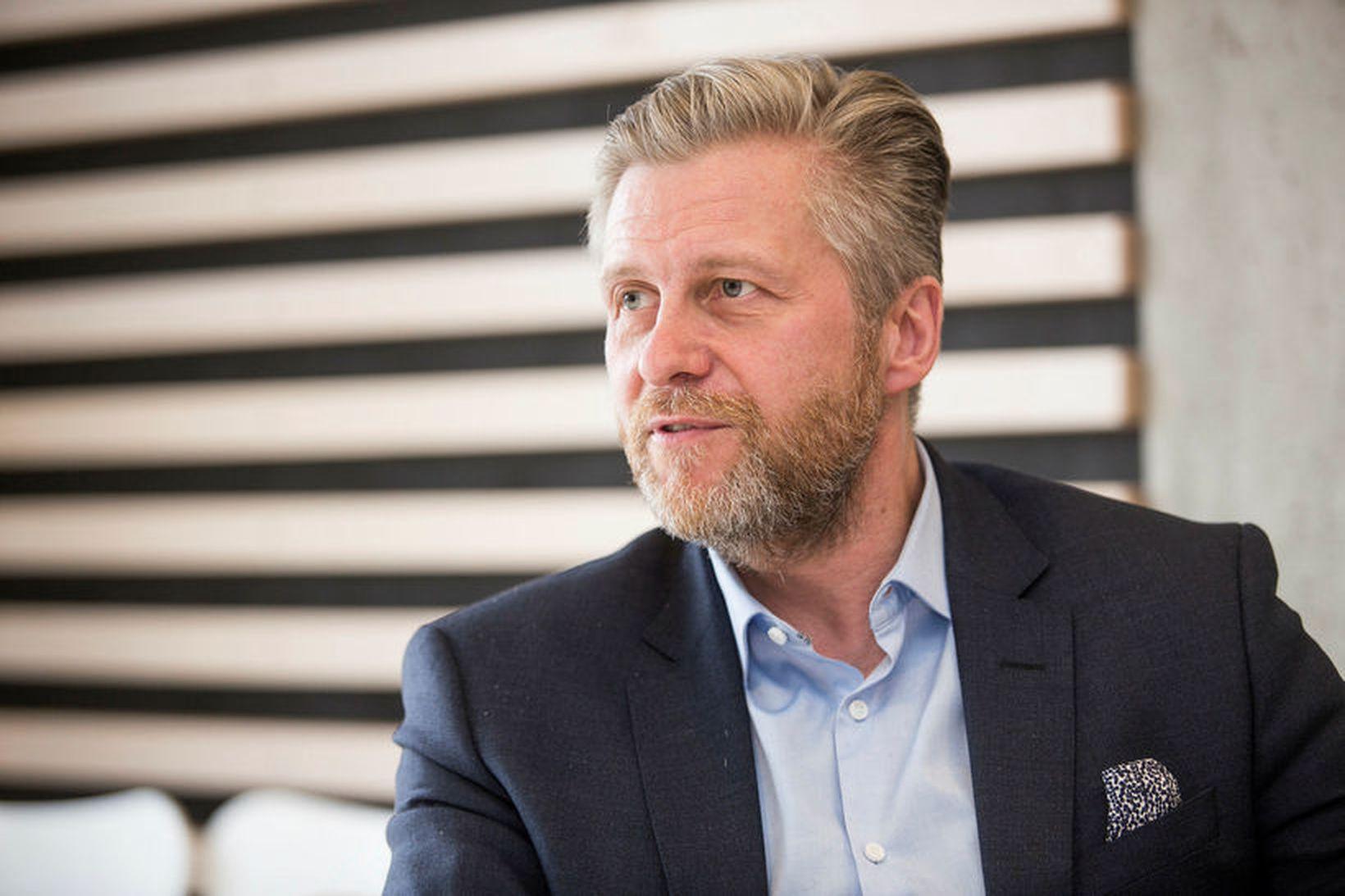 Eyþór Arnalds, oddviti Sjálfstæðismanna í Reykjavík.