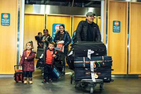 Two Albanian families were granted citizenship by the Icelandic Parliament  after having previously been deported.