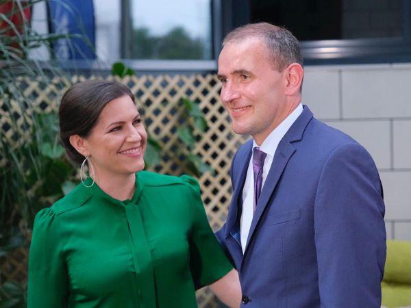 First Lady Eliza Reid and President Guðni Th. Jóhannesson.