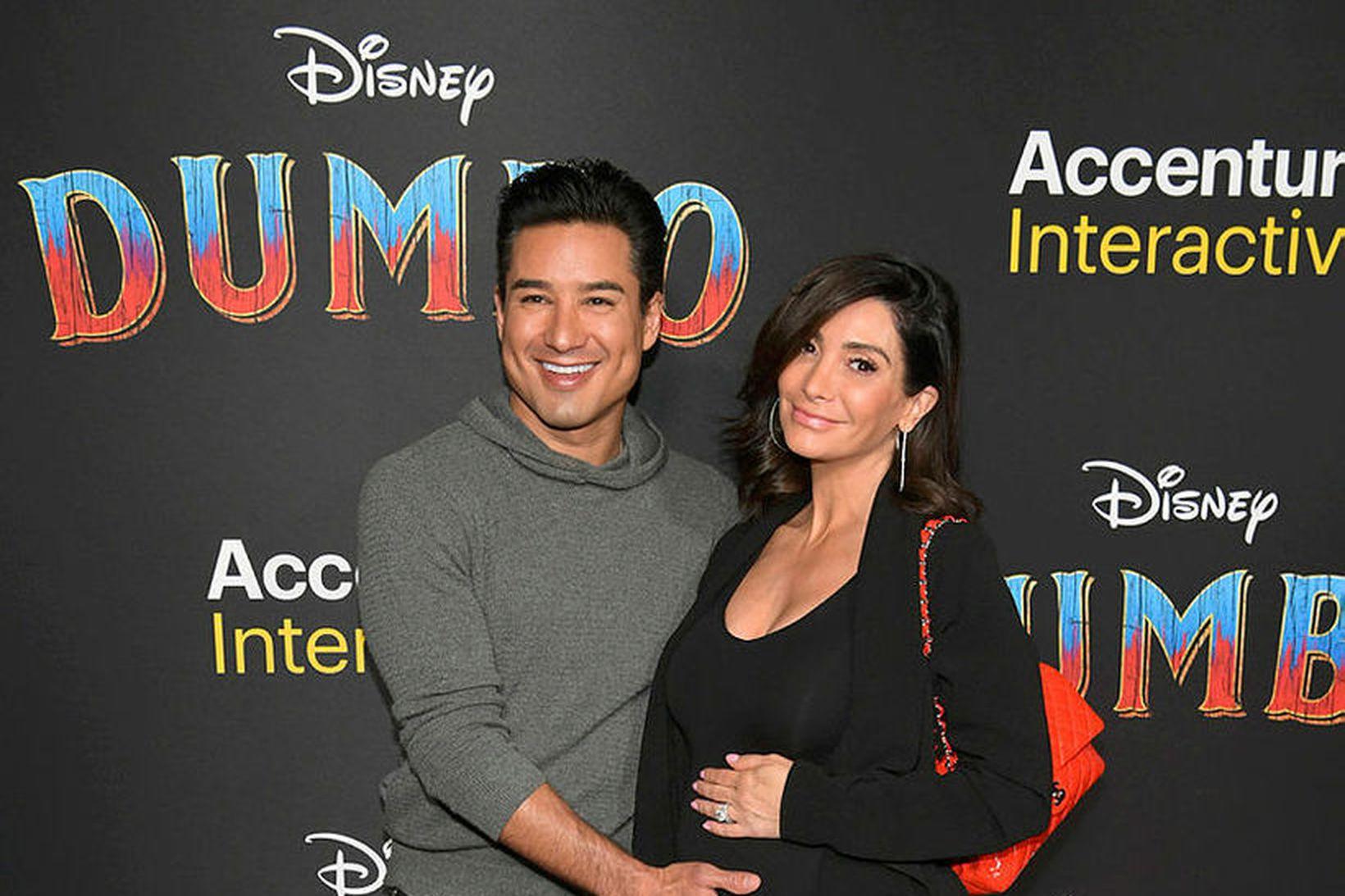 Mario og Courtney Lopez eiga þrjú börn.