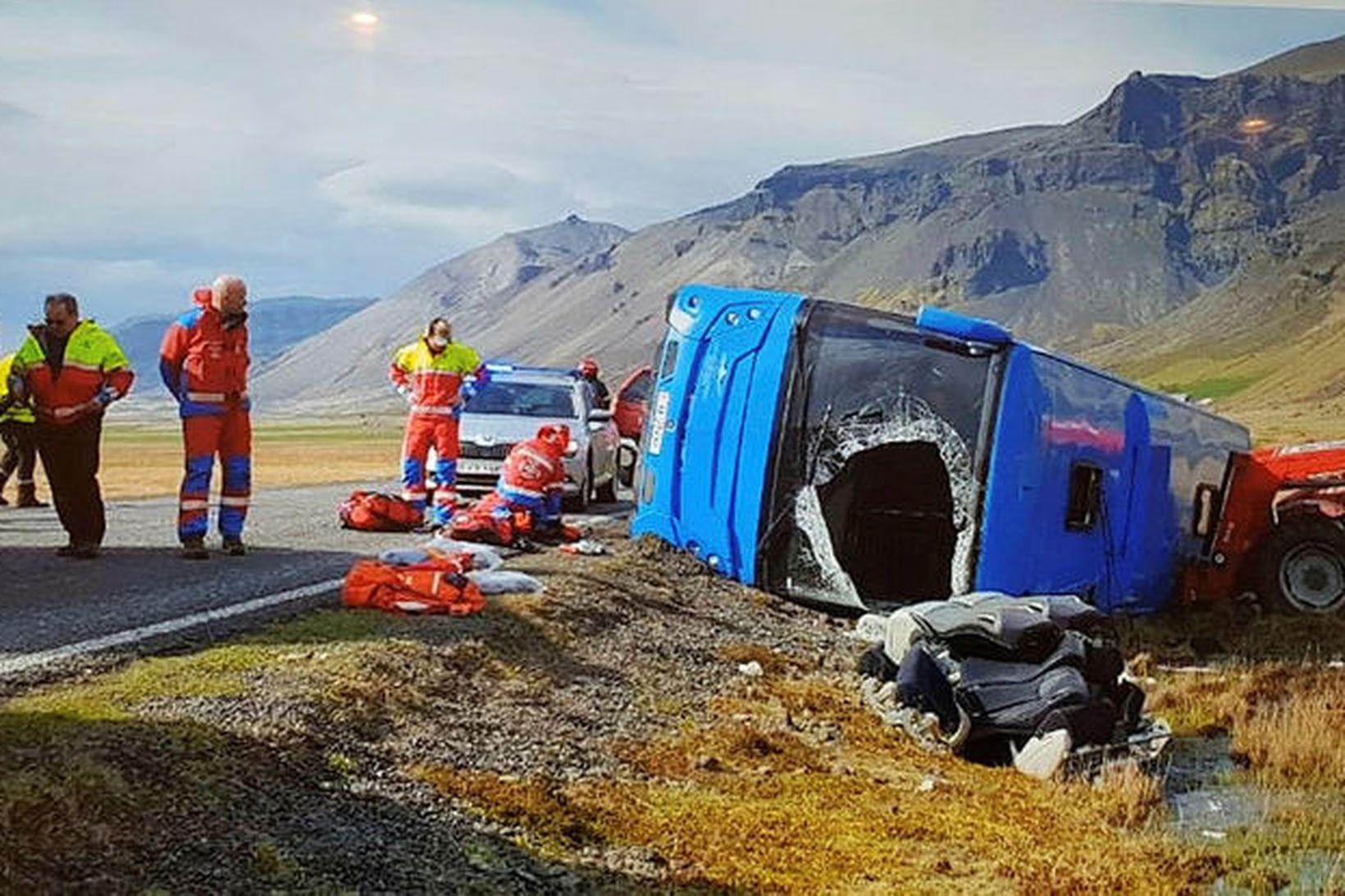 Fleiri viðbragðsaðila þarf á svæðið.