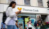 Ein af skrifstofum ferðaþjónustufyrirtækisins Thomas Cook í London. Rúmlega 150.000 manns eru nú strandaglópar eftir ...
