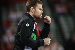 Kristján Andrésson er kominn með lærisveina sína í undanúrslitin á EM.