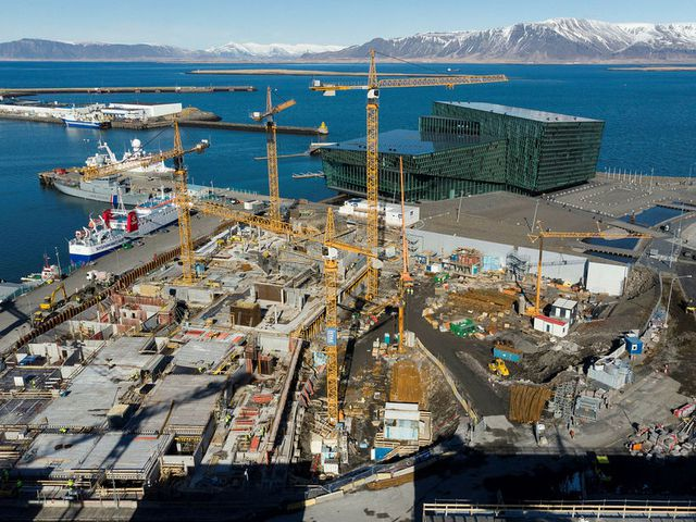 The new reykjavik edition hotel starts to rise in for Hotels in reykjavik centre