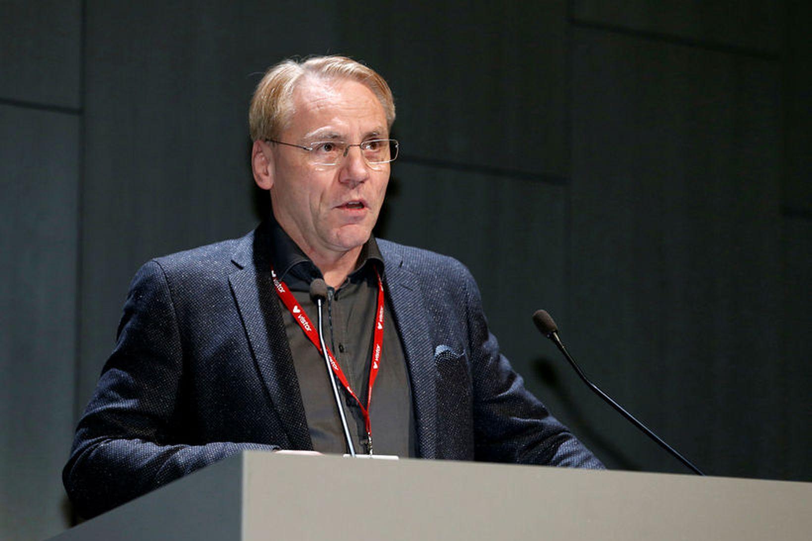 Karl G. Kristinsson, prófessor í sýklafræði og yfirlæknir á sýkla- …