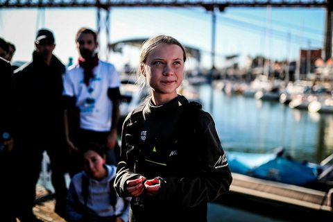 Greta Thunberg er manneskja ársins hjá Time.