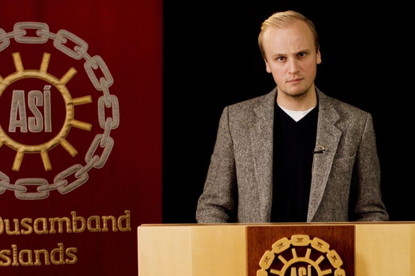 Ástþór Jón Ragnheiðarson er varaformaður ASÍ-UNG.