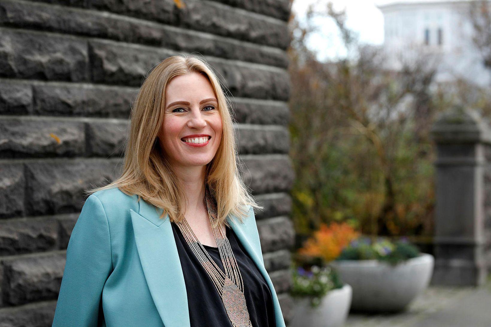 Halldóra Mogensen, þingflokksformaður Pírata.
