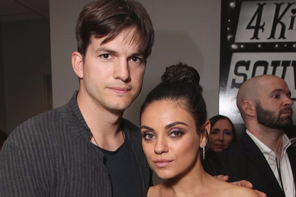 Ashton Kutcher og Mila Kunis gera börnin arflaus.