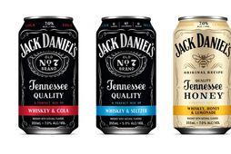 Þrír nýir kokteilar í dós frá Jack Daniel's.