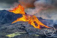 Eldgosið á Reykjanesi