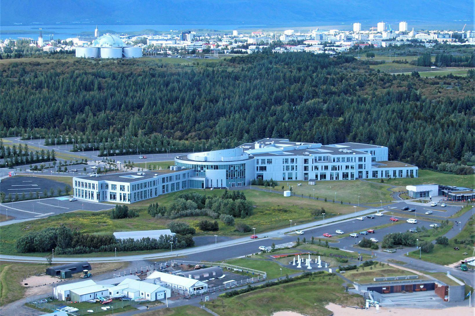 Háskólinn í Reykjavík.
