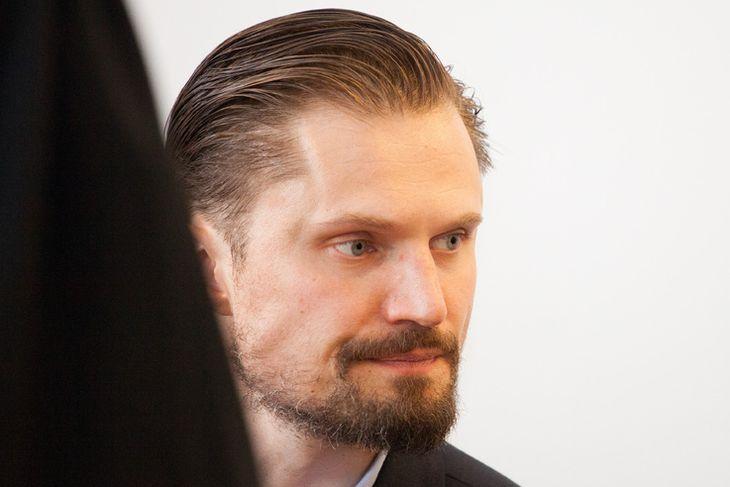 Elmar Svavarsson í Héraðsdómi Reykjavíkur.