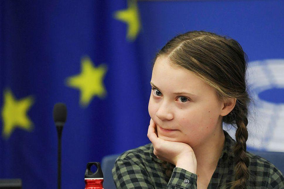 Loftslagsaðgerðasinninn Greta Thunberg er ósátt með þá sem sýna henni ...