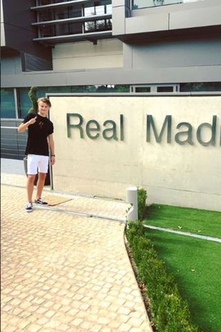 Andri Lucas Guðjohnsen er orðinn leikmaður Real Madrid.
