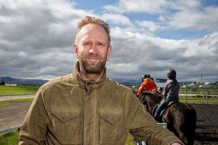 Þorvaldur Kristjánsson kynbótadómari.
