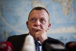Lars Løkke Rasmussen, forsætisráðherra Danmerkur.