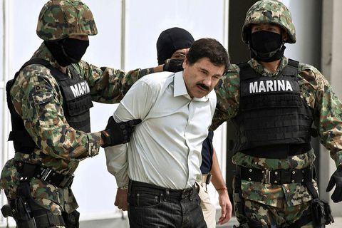 El Chapo er einn alræmdasti eiturlyfjabarónn síðustu áratuga.