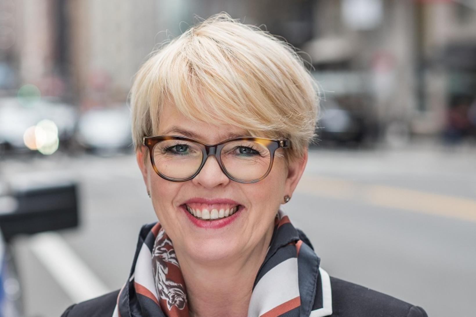 Hrefna Ösp Sigfinnsdóttir er nýr framkvæmdastjóri Creditinfo á Íslandi.