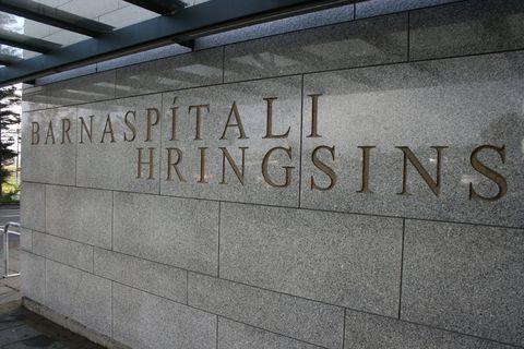 The Icelandic Children's Hospital.