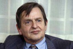 Olof Palme var myrtur þann 28. febrúar árið 1986.
