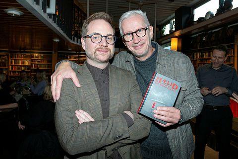 Emil Hjörvar Petersen og Óskar Guðmundsson.