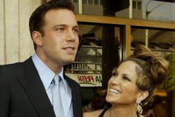 Ben Affleck og Jennifer Lopez voru eitt sinn par.