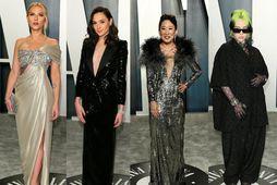 Scarlett Johansson, Gal Gadot, Sandra Oh og Billie Eilish skiptu allar um kjóla fyrir partýið …