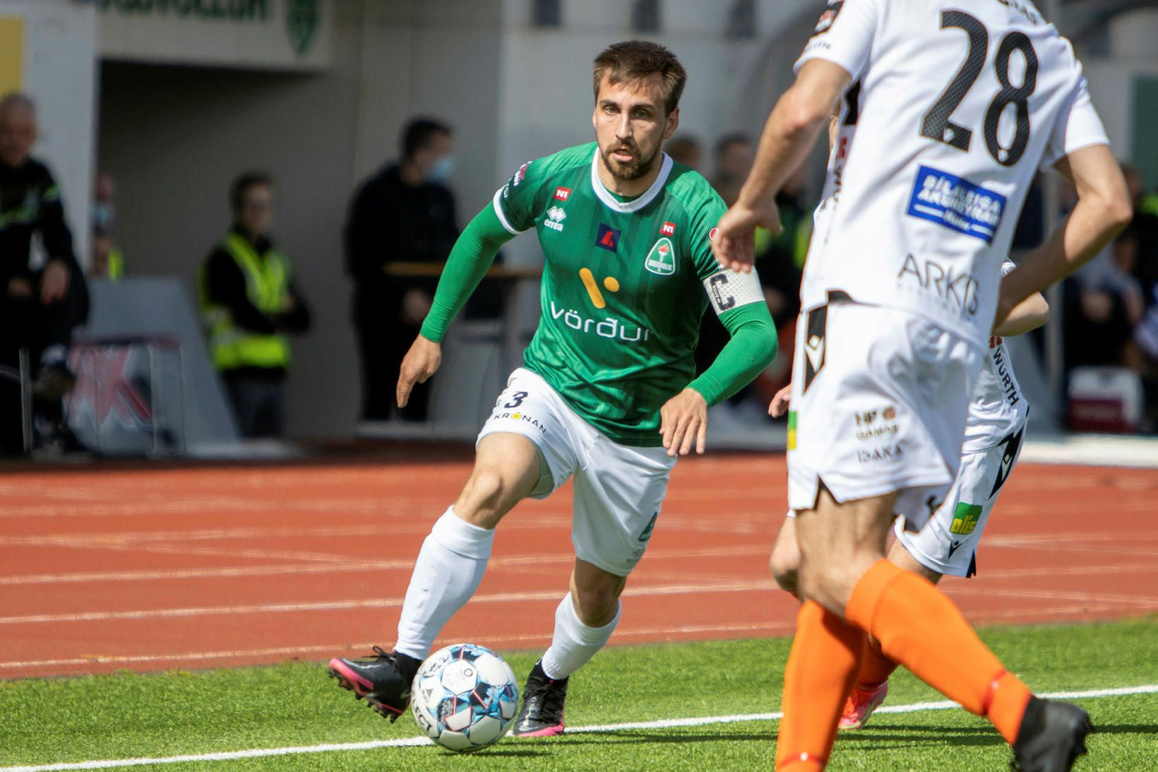 Oliver Sigurjónsson er kominn í bann.